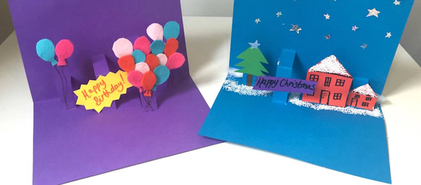 Christmas Crafts | Make Cards & Decorations | OMO