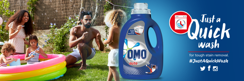 OMO Quick Wash Social Competition